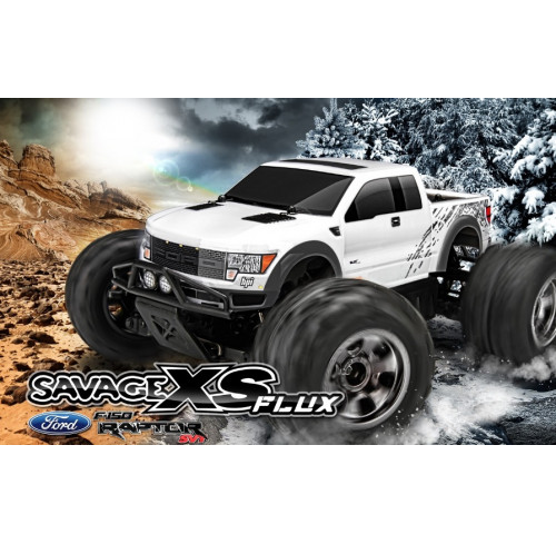 SAVAGE XS FLUX Ford SVT Raptor Ready To Run HPI