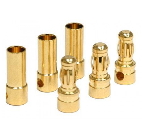 Conector Ouro 4.0mm M+F (10+10) A2 PRO