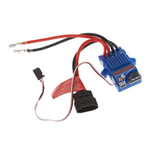 ESC XL 5™ Waterproof FWD/REV ESC with Low Voltage Detection (LVD) Traxxas