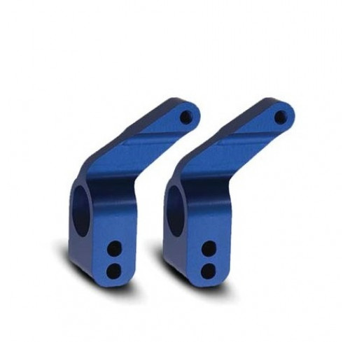 Aluminum Stub Axle Carriers Blue Anodized Traxxas
