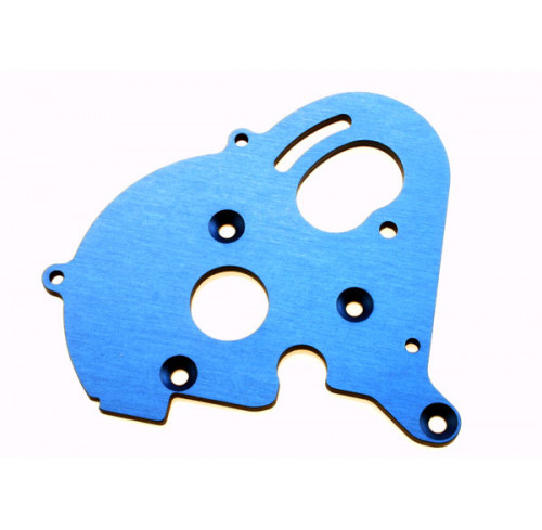 Aluminum Motor Plate for Single Motor Installation Traxxas