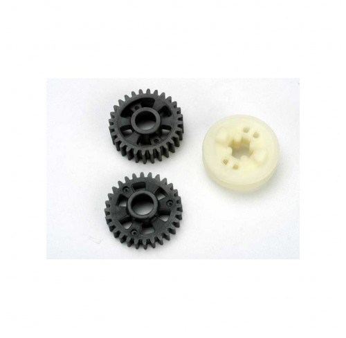 Output gears, forward & reverse/ drive dog carrier Traxxas