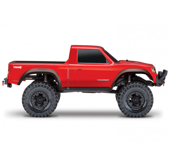 TRX4 Sport Crawler 4WD Electric Truck Scale Red Traxxas