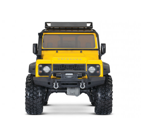 TRX4 Defender Land Rover Yellow Limited Edition Scale And Trail Crawler Traxxas