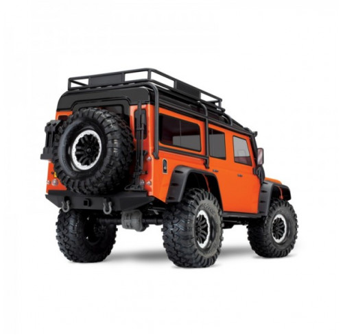 TRX4 Defender Land Rover Orange Limited Adv. Edition Scale And Trail Crawler Traxxas