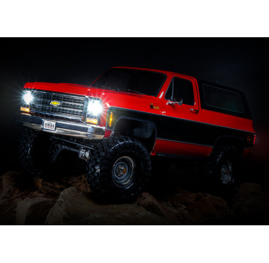 TRX4 K5 BLAZER Scale 4X4 Red Crawler 4WD 1/10 Ready To Fun Traxxas