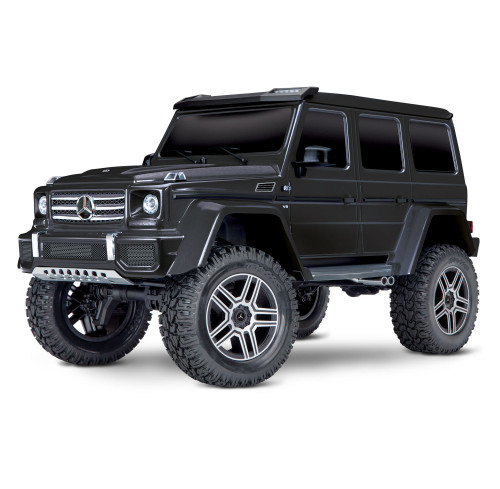 TRX4 Scale And Trail Crawler Mercedes G500 Black 1/10 RTR Traxxas