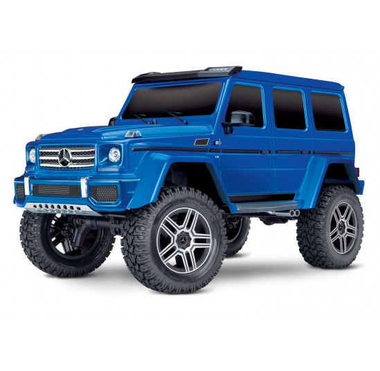 TRX4 Scale And Trail Crawler Mercedes G500 Azul 1/10 RTR Traxxas