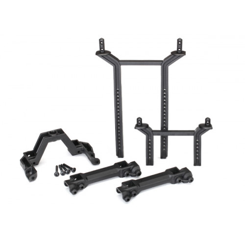 Body Mounts & Posts Front/Rear (complete set) Traxxas