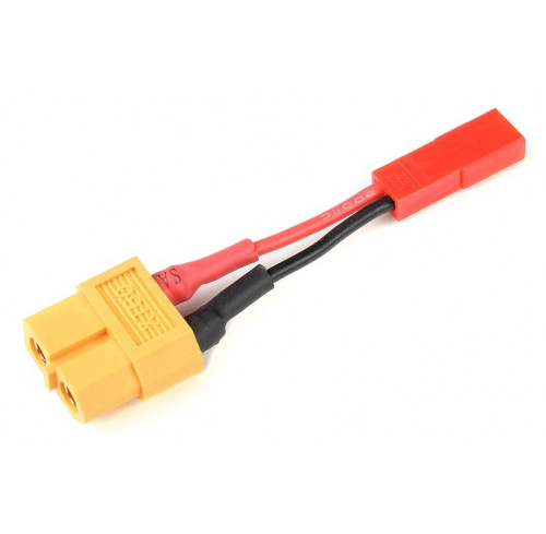 Power Adapter Lead XT60 Socket <=> Bec Plug 20Awg Silicone Wire GFORCE