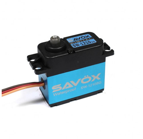 Servo HV Digital Brushless Waterproof (0.13s 32kg) Steel Gear Savox