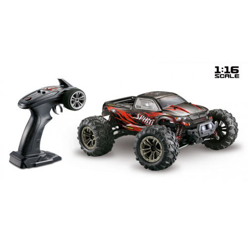 Monster Truck Scale 1/16 4WD High Speed 2,4GHz Black/Red Absima