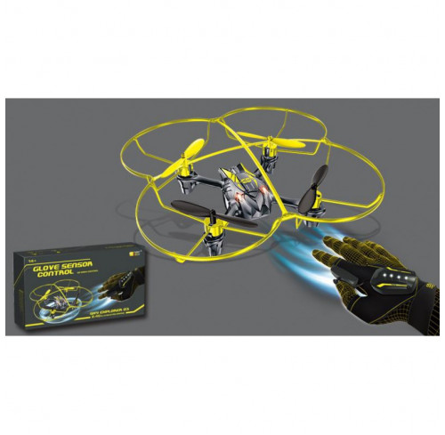 Drone Glove Sensor Control Ready To Fly Funny Box