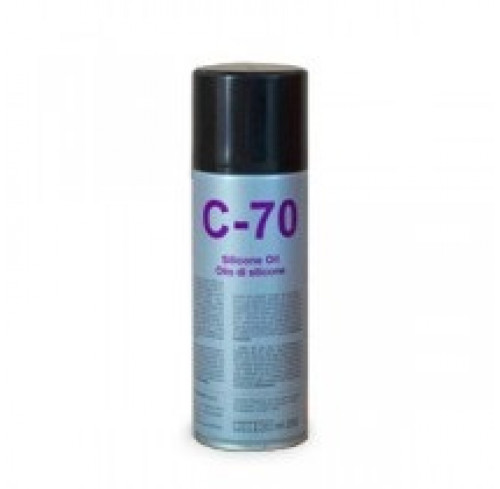 Spray de Silicone C 70 200ml DUE CI Electronics