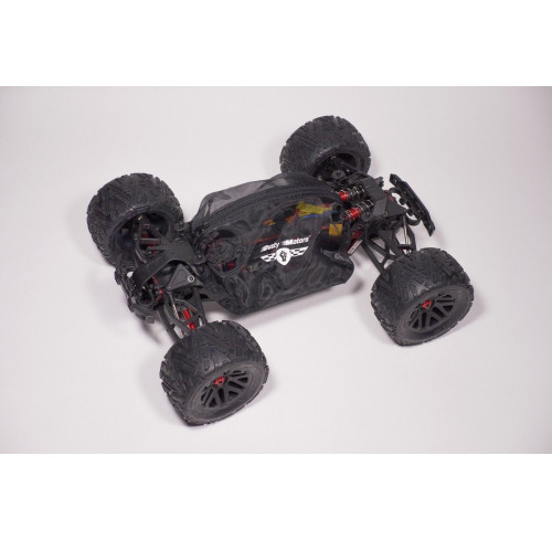 ARRMA Nero/Fazon/Big Rock Protection Cover BLACK Dusty Motors