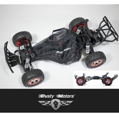 Traxxas SLASH 2WD Protection Cover BLACK Dusty Motors