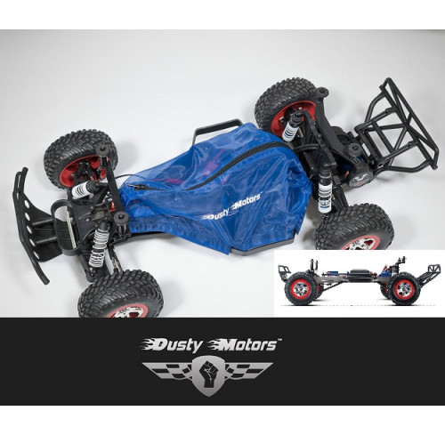 Traxxas SLASH 2WD Protection Cover BLUE Dusty Motors
