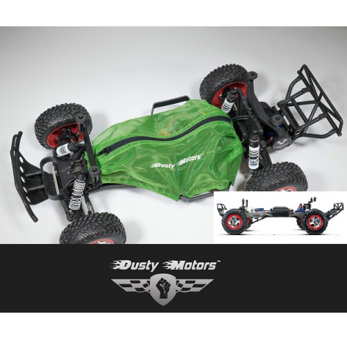 Traxxas SLASH 2WD Protection Cover GREEN Dusty Motors