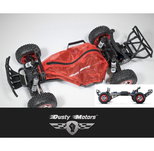 Traxxas SLASH 2WD Protection Cover RED Dusty Motors