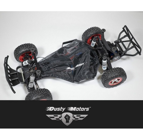 Traxxas SLASH 2WD LCG CHASSI Protection Cover BLACK Dusty Motors