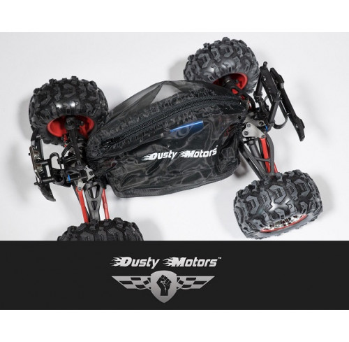 Traxxas 1/16 MODELS Protection Cover BLACK Dusty Motors