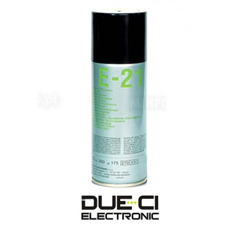 Spray Removedor Etiquetas E 21 200ml DUE CI Electronics