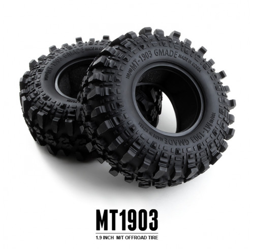 "Pneus MT 1903 1.9"" inch Off-Road Tires (2) GMADE"