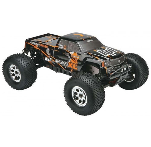 SAVAGE XL 5.9 WITH 2.4GHz AND GIGANTE TRUCK BODY (EU 2 PIN) Ready To Run HPI