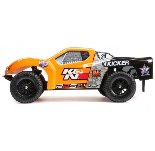 22S K&N SCT 1/10 Short Course Brushless AVC 2WD RTR LOSI