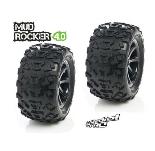 Pneus Mud Rocker 4.0 Cyclon Black (2) Medial Pro