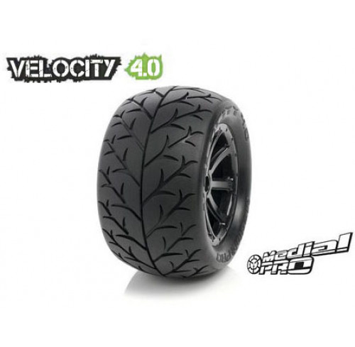 Pneus Velocity 4.0 Mounted on Cyclon 4.0 Black Wheels Medial Pro (2)