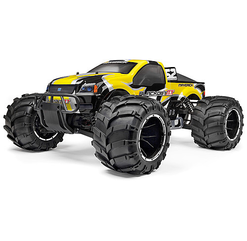 Maverick Blackout MT 1/5 Scale 4WD Petrol Monster Truck Ready To Run Maverick