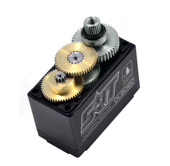 Servo Digital DL5020 1/8 1/10 Crawler LV 6.0V Titanium Gear (20.0kg/0.16sec) Waterproof SRT