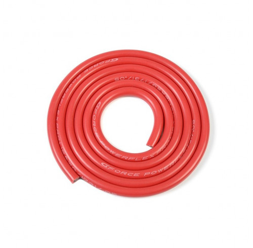 Silicone Wire Powerflex Pro+ Red 12Awg 1731/0.05 Str GFORCE