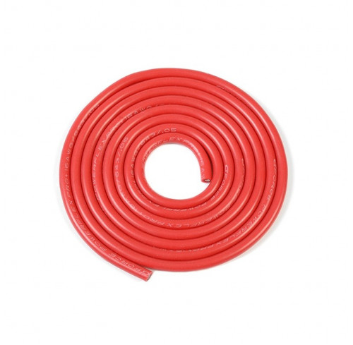 Silicone Wire Powerflex Pro+ Red 16Awg 643/0.05 Strands 1M GFORCE