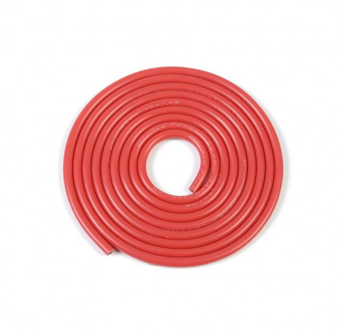 Silicone Wire Powerflex Pro+ Red 18Awg 380/0.05 Strands GFORCE