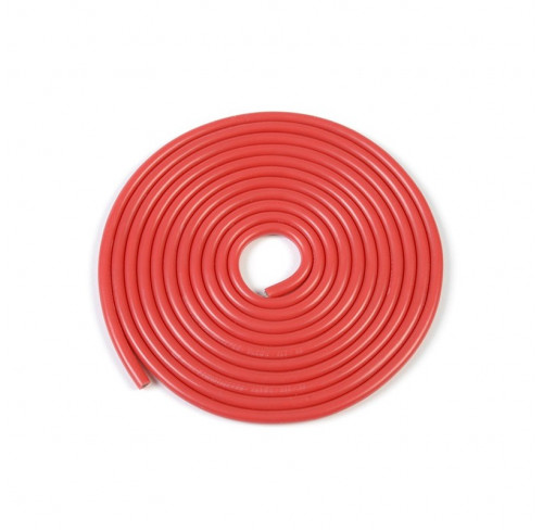 Silicone Wire Powerflex Pro+ Red 20Awg 255/0.05 Strands 1M GFORCE