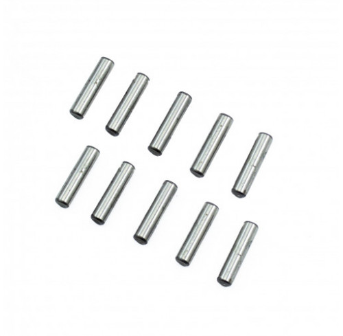 Pin Set 3x12.8mm Chrome Steel (10) Ultimate Racing