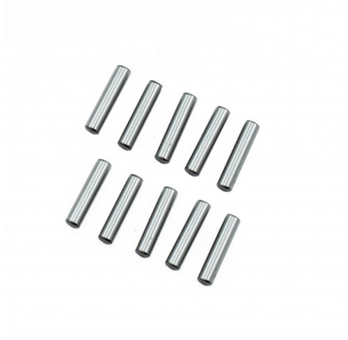 Pin Set 3x13.8mm Chrome Steel (10) Ultimate Racing